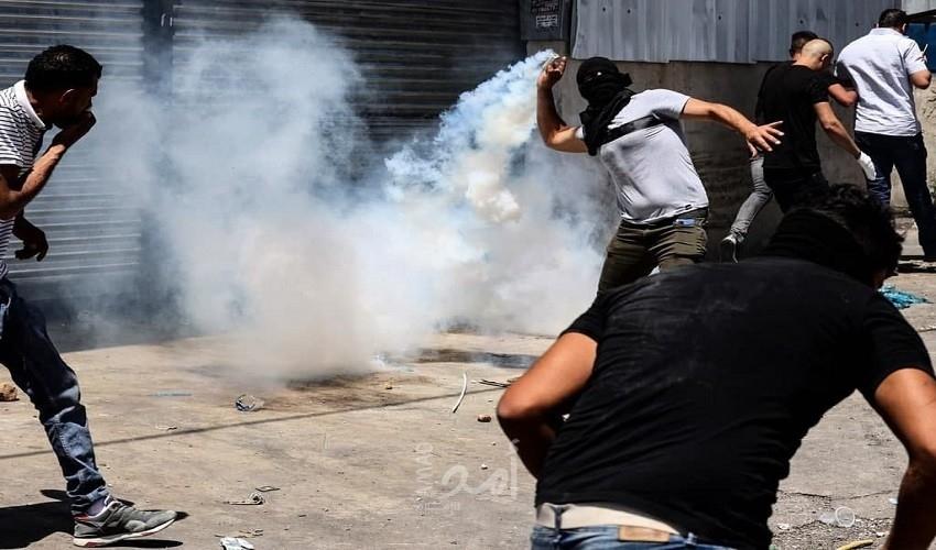 محدث-إصابات خلال مواجهات مع قوات الاحتلال في مختلف مدن الضفة