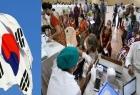 كوريا الجنوبية ترسل مساعدات طبية عاجلة  إلى الهند لمواجهة كورونا
