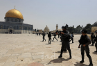 مجموعة من المستوطنين يقتحمون المسجد الأقصى بحماية شرطة الاحتلال