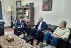 عبد الهادي يستقبل رئيس لجنة المصالحة الوطنية السورية في مقر الدائرة السياسية بدمشق