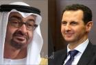 محمد بن زايد يتلقى اتصال من الرئيس بشار الأسد