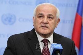 منصور يبعث برسائل متطابقة حول  مواصلة انتهاكات سلطات الاحتلال ضد الشعب الفلسطيني