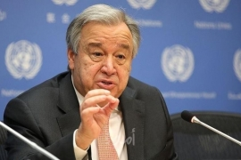 غوتيريش: القضية الفلسطينية تظل أولوية بالنسبة للأمم المتحدة