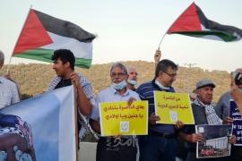 مظاهرات حاشدة في أراضي 48 دعمًا وإسنادًا للأسرى - صور