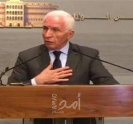 الأحمد: بدء العمل بالخطوات التي أعلن عنها الرئيس عباس في خطابه بالأمم المتحدة