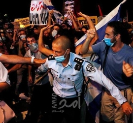 """إعلام عبري: إلغاء المنظمات الاحتجاجية """"المظاهرات الاسبوعية"""" ضد نتنياهو في القدس وتل أبيب"""