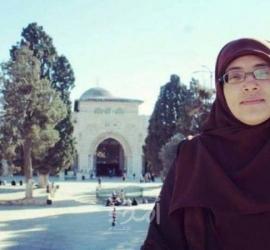 """محدث - شرطة الاحتلال تفرج عن المقدسية """"خديجة خويص"""" وتسلمها قرارًا بالإبعاد عن الأقصى"""