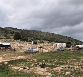 سلطات الاحتلال تخطر بوقف بناء 12 منزلا في دوما بنابلس