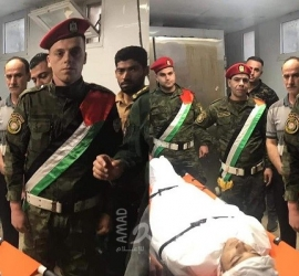 """نابلس تودع الشهيد """"أحمد بني شمسة"""" وسط هتافات بالرد"""