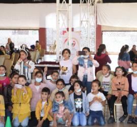 """غزة: """"عطاء فلسطين"""" تنهي المرحلة الأولى من مشروع الدعم النفسي للأطفال"""