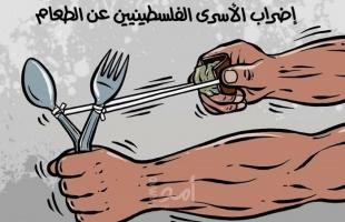 (6) أسرى يواصلون الاضراب عن الطعام داخل سجون الاحتلال
