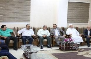 وفد يلتقي المدير الجديد لمستشفى الشفاء بغزة