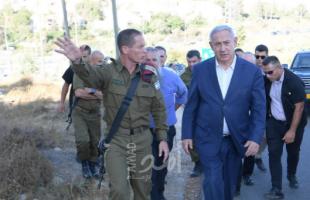 نتنياهو يجري مشاورات أمنية بعد اطلاق صواريخ غزة