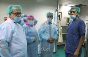 أبو سلمية: نسير بخطى ثابتة نحو تحسين خدمات مستشفى الولادة بمجمع الشفاء الطبي