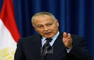 أبو الغيط يجدد دعوته لتثبيت وقف إطلاق النار في ليبيا