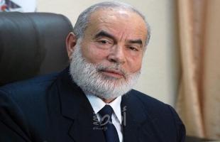 """بحر يؤكد تمسك الشعب بخيار """"المقاومة"""" والسعي لتبيض سجون الاحتلال"""