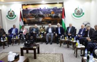 """للمرة الثالثة خلال أسبوع.. وفد لجنة الانتخابات برئاسة """"حنا ناصر"""" يعود إلى غزة"""