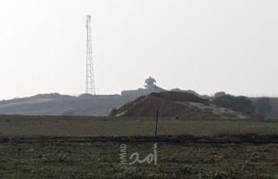 """قوات الاحتلال تطلق النار تجاه سيارة """"صرف صحي"""" شرق خانيونس"""