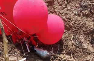 """سقوط بالونات مفخخة في كيبوتس """"نحال عوز"""" وإعلام عبري: أكثر تطوراً من السابق"""