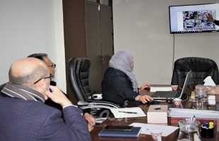 """""""أبو الريش"""" يناقش التصور الأولي لمشروع العيادات الخارجية وقسم الطوارئ بمجمع الشفاء"""