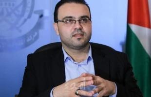 قاسم:  باسم حركة حماس يوم السبت، إنّ قصف الاحتلال على قطاع غزة هو امتداد للعدوان على شعبنا في القدس