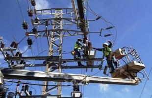 كهرباء غزة: فصل خط F8 المغذي لمحافظة خانيونس لأعمال صيانة طارئة