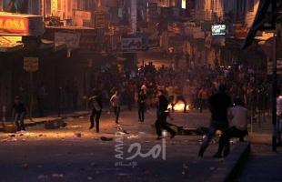 اندلاع مواجهاتٍ بين شبّان وقوات الاحتلال غرب تقوع جنوب بيت لحم