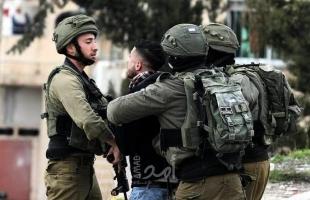 """قوات الاحتلال تعتقل (3) شبان عند مدخل مستوطنة """"كدوميم"""" قرب نابلس"""