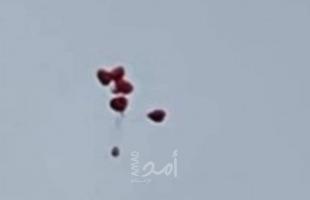 رغم الاتفاق على وقفها.. سقوط بالونات مفخخة في بلدات مقابل غزة