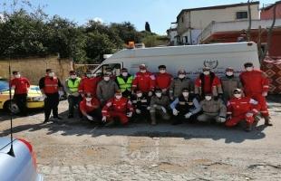 جمعية الشفاء تستمر في إطلاق مشاريعها التعقيمية والتوعوية في المخيمات الفلسطينية في لبنان
