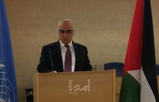 خريشي: الانتهاكات الإسرائيلية سيتم إدراجها ضمن عمل لجنة التحقيق التي تم إقرارها في جنيف