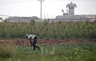 قوات الاحتلال تٌطلق النار تجاه أراضي المزارعين شرق خانيونس