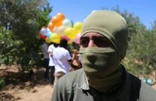 اطلاق بالونات حارقة شرق غزة.. قناة عبرية: جهود لتحويل 100 مليون دولار لاستمرار التهدئة