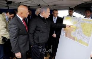 قناة عبرية تكشف الخرائط الإسرائيلية الأولية للضم بالضفة الغربية