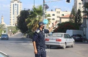 شرطة حماس: يمنع منعاً باتاً تحريك أي مركبة ومن يخالف يعرض نفسه للمحاسبة القانونية