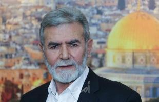 النخالة يٌهاتف عائلات شهداء القدس وجنين