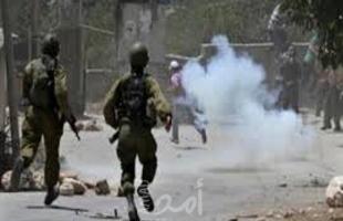 نابلس: إصابة شاب في عينه برصاص قوات الاحتلال في بلدة سبسطية