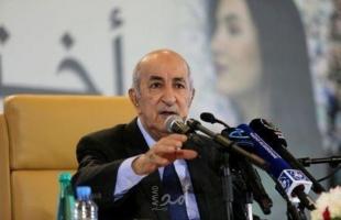 الرئيس الجزائري يوجه رسالة لمقاطعي الانتخابات التشريعية في بلاده