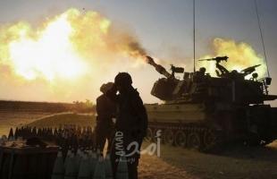 قوات الاحتلال تقصف مواقع عسكرية في قطاع غزة
