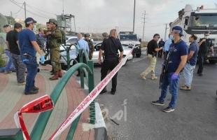 فيديو - محدث2 ..إصابة جنديين من جيش الاحتلال إثر عملية دهس على حاجز زعترة جنوب نابلس