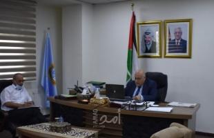 رام الله: وزير العمل يلتقي السفير الدنماركي