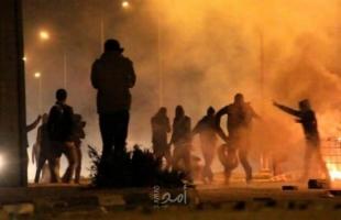 إصابة شابين برصاص قوات الاحتلال في دير أبو مشعل
