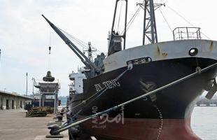 أول سفينة شحن إماراتية تصل ميناء حيفا