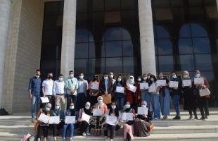 الحركة العالمية تعقد دورة تدريبية حول حماية الأطفال الأحداث في الأرض الفلسطينية