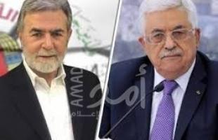 النخالة يهاتف الرئيس عباس معزيا بوفاة عريقات