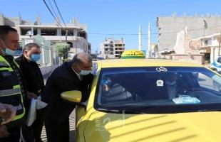 قلقيلية تطلق حملة الفحص الشتوي للمركبات