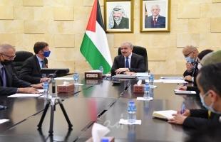 اشتية وممثل الاتحاد الأوربي يطلقان المنصة الفلسطينية الأوروبية لبنوك الاستثمار