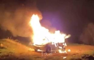 الاعتداء على ضابط أمن في نابلس وحرق (6) مركبات بشجار عنيف في الخليل