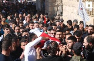 """تشييع جثمان الشهيد المقدسي """"محمد صلاح الدين""""- صور"""