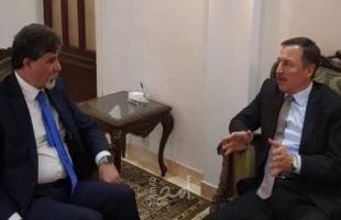 السفير عبد الهادي يبحث مع السفير الروسي لدى سوريا آخر التطورات في فلسطين